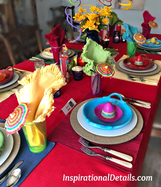 Mexican tablescape ideas