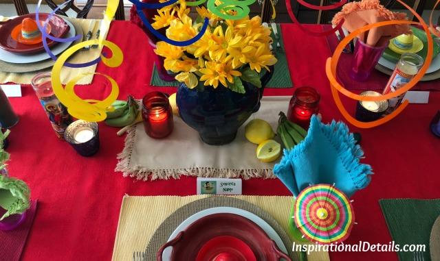 Mexican dinner party / table decor ideas