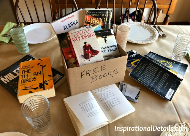 The Great Alone book club lunch