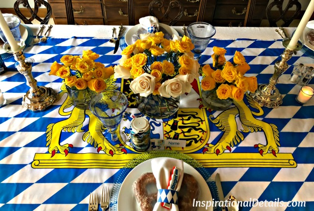 Oktoberfest table ideas