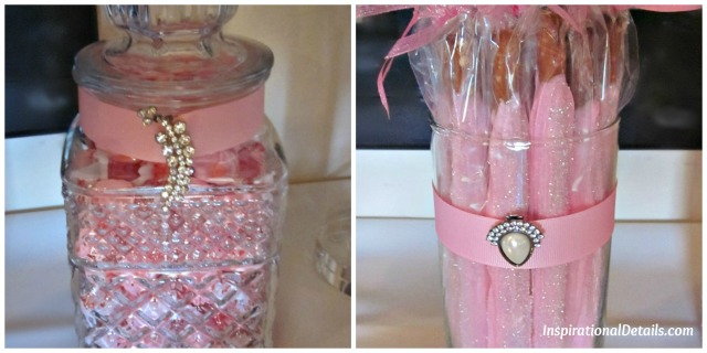 pretty pink caandy bar idea