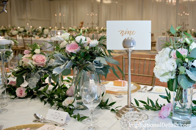 wedding table numbers ideas