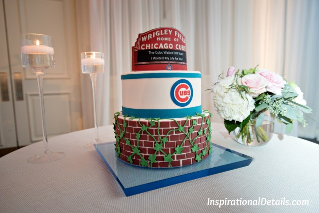 Chicago Cubs / Wrigley Field grooms cake
