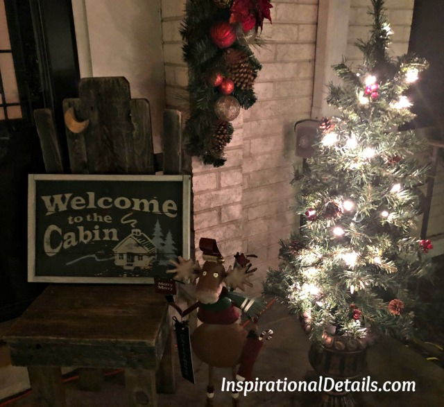 cabin inspired dinner party idea