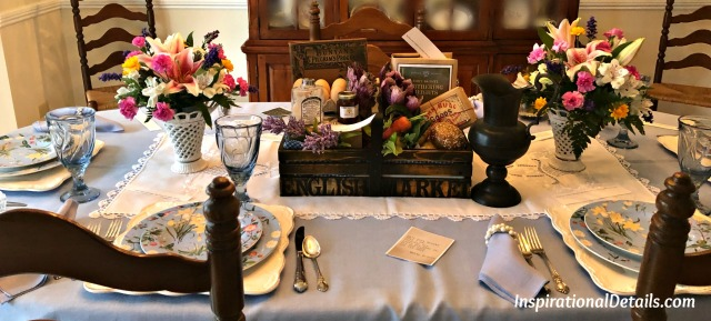 book club table ideas (Wuthering Heights)