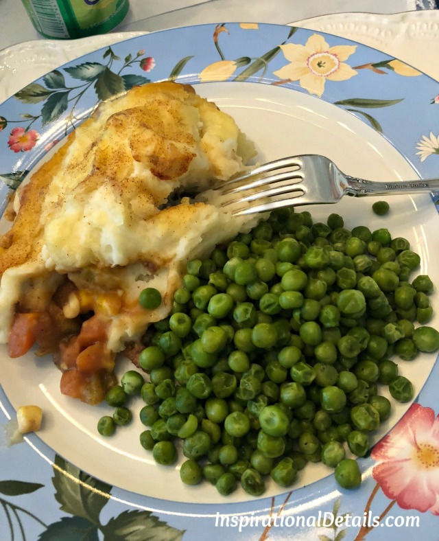Cottage Pie - a typical English dish