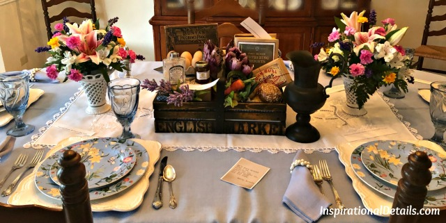 Wuthering Heights table idea