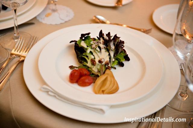 wedding menu ideas - salad