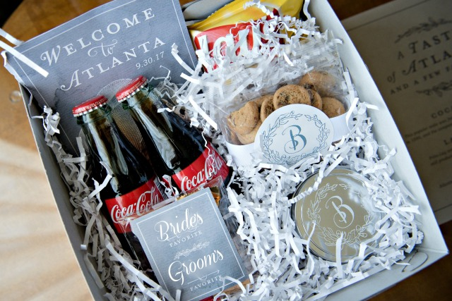 wedding welcome boxes ideas