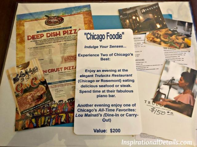 food/restaurant auction item ideas
