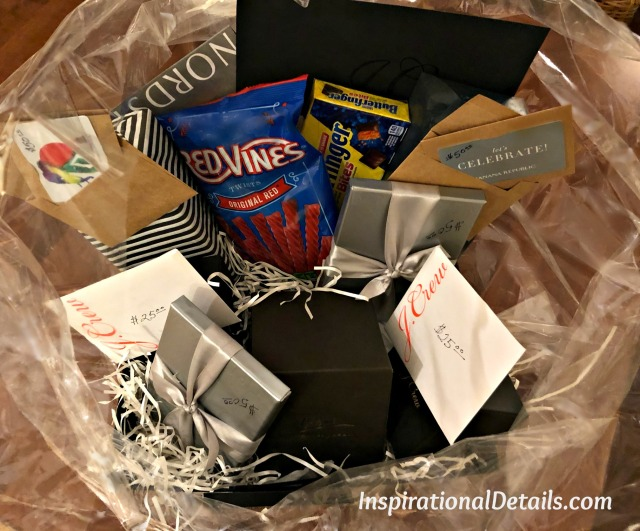 shopping gift card auction basket ideas
