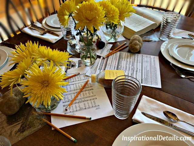 "book club discussion for book ""Educated"" table/food ideas"
