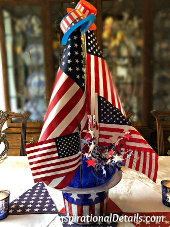Fourth of July/Memorial Day ideas for table