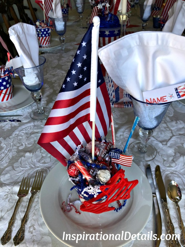 Fourth of July/Memorial Day table ideas