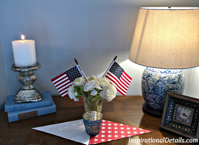 patriotic decor idea