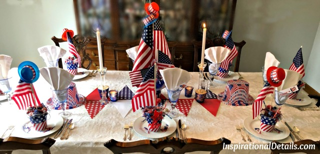 patriotic tablescape ideas