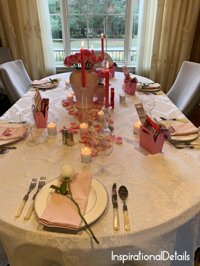 Valentine's Day tablescape ideas